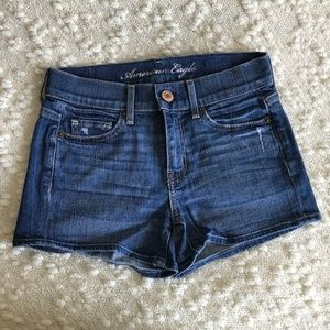 American Eagle High-Rise Jean Shorts
